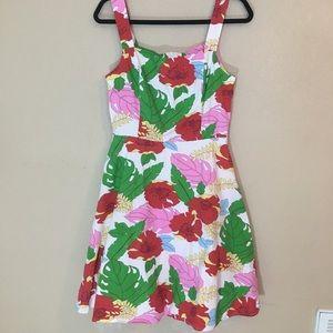 Ruby Rox floral dress with crinoline layer sz 9